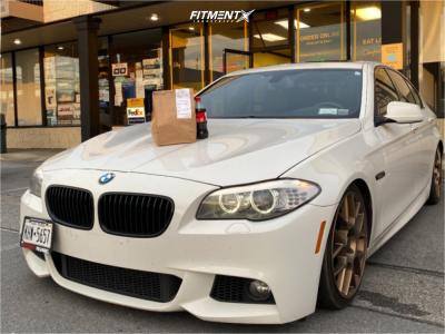 2013 BMW 535i xDrive - 19x8.5 35mm - BBS Xr - Coilovers - 235/35R19
