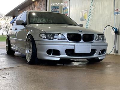 2004 BMW 330i - 18x8.5 32mm - ESR Sr01 - Stock Suspension - 235/45R18