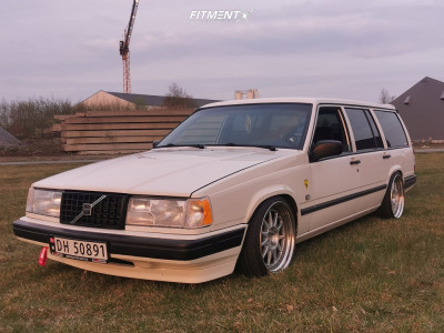 1995 Volvo 940 - 18x9 20mm - OZ Racing Hartge - Coilovers - 215/35R18
