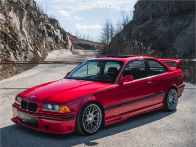 1992 BMW 325i - 17x8.5 15mm - BBS RC 302 - Coilovers - 215/40R17