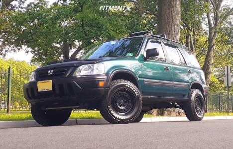 2000 Honda CR-V - 15x7 15mm - Black Rhino Unit - Stock Suspension - 215/75R15