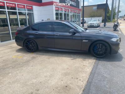 2014 BMW 535i - 20x9 35mm - Black Diamond BD11 - Stock Suspension - 245/35R20