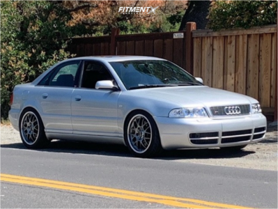 2001 Audi S4 - 18x8 35mm - BBS Rs-gt - Coilovers - 225/45R18