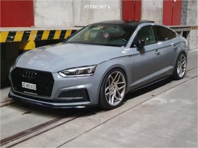 2018 Audi S5 Sportback - 20x10 25mm - Veemann V-FS27R - Lowering Springs - 275/30R20
