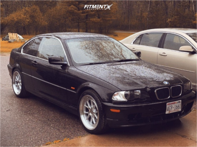 2001 BMW 330Ci - 18x8.5 35mm - Aodhan Ds08 - Stock Suspension - 235/40R18