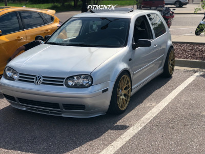 2003 Volkswagen GTI - 18x8.75 33mm - XXR 530 - Coilovers - 225/40R18