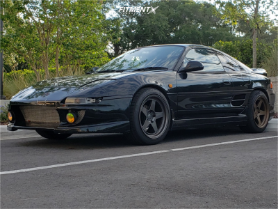 1990 Toyota MR2 - 17x9 22mm - Kansei Knp - Coilovers - 225/45R17