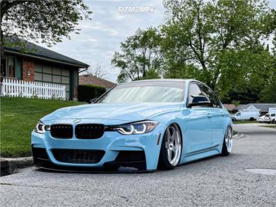2014 BMW 335i xDrive - 19x9.5 35mm - Kansei Knp - Air Suspension - 225/35R19