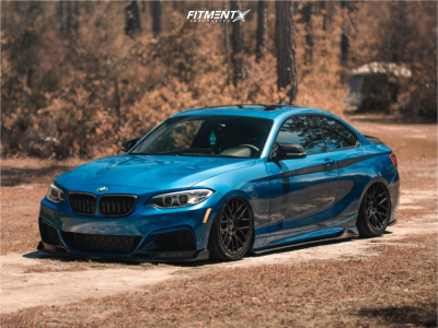 2016 BMW M235i - 18x8.5 35mm - Avant Garde M359 - Air Suspension - 235/40R18