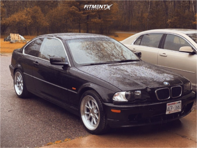 2001 BMW 330Ci - 18x8.5 35mm - Aodhan Ds08 - Stock Suspension - 235/35R18