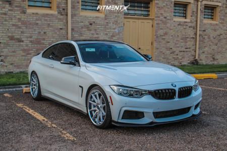 2014 BMW 435i - 20x9 35mm - Rohana Rc10 - Stock Suspension - 245/30R20
