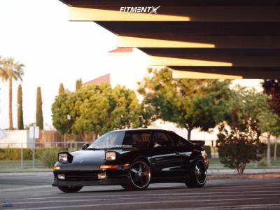 1991 Toyota MR2 - 18x9 22mm - XXR 968 - Coilovers - 215/40R18