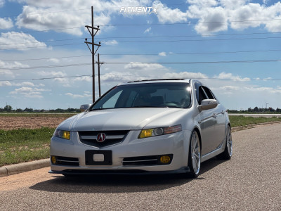 2007 Acura TL - 20x8.5 35mm - Ferrada Fr4 - Coilovers - 235/30R20