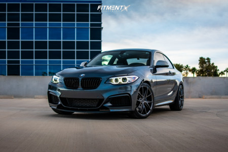 2016 BMW M235i - 19x8.5 35mm - Niche Misano - Stock Suspension - 235/40R19