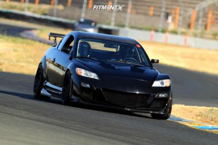 2009 Mazda RX-8 - 18x9.5 22mm - Advan Racing Rs-df Progressive - Coilovers - 255/35R18