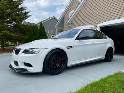 2010 BMW M3 - 19x9.5 22mm - Vorsteiner V-ff103 - Lowering Springs - 255/35R19