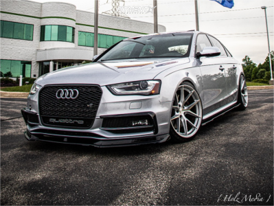 2015 Audi S4 - 19x9.5 35mm - Aodhan Aff7 - Coilovers - 235/35R19