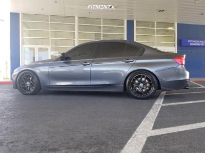 2014 BMW 328i - 19x8.5 30mm - ESR Cs15 - Lowering Springs - 235/35R19
