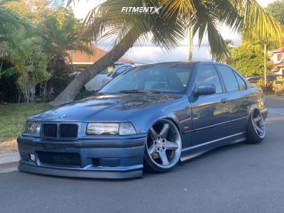 1996 BMW 328i - 18x8.5 13mm - Ac Schnitzer Type 2 - Air Suspension - 195/35R18