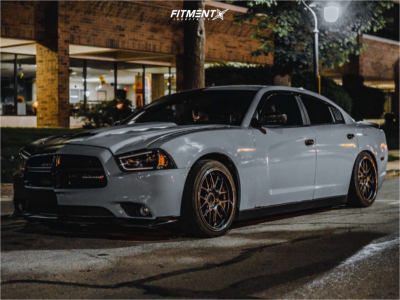 2014 Dodge Charger - 19x9 22mm - XXR 530d - Coilovers - 245/35R19
