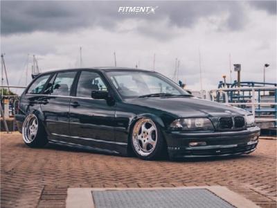 2000 BMW 3 Series - 17x8 35mm - RH Zw1 - Air Suspension - 205/40R17
