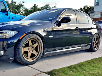 2011 BMW 335i - 17x9 35mm - Kansei Knp - Coilovers - 255/40R17