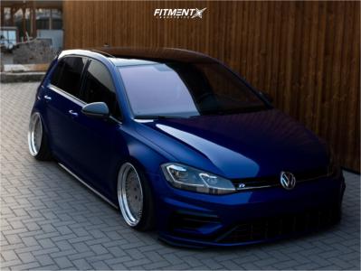 2017 Volkswagen Golf R - 18x10 24mm - Rad 48 Forged DDR-T - Lifted - 215/35R18