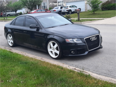 2011 Audi A4 Quattro - 19x8.5 38mm - Lorinser Rs5 - Coilovers - 235/35R19