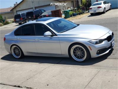 2015 BMW 320i - 19x8.5 30mm - ESR Cs3 - Lowering Springs - 235/35R19