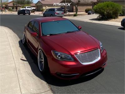 2013 Chrysler 200 - 20x11 0mm - Weds Kranze Vishnu - Coilovers - 225/35R20