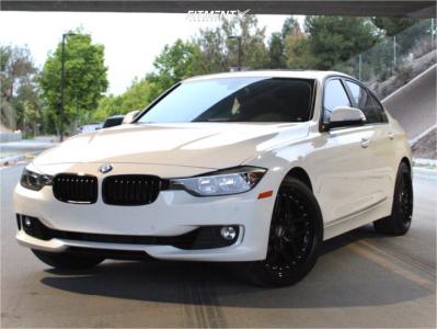 2015 BMW 328i xDrive - 19x9.5 22mm - ESR Cs15 - Stock Suspension - 245/40R19
