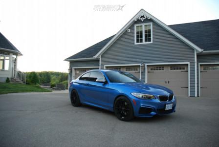 2016 BMW M235i xDrive - 19x8.5 35mm - Savini SVF-01 - Stock Suspension - 235/35R19