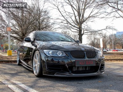 2012 BMW 335is - 19x8.5 33mm - Rohana RC7 - Coilovers - 235/35R19