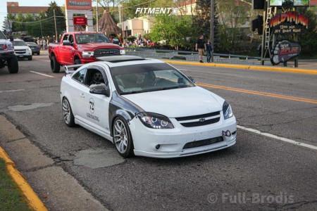 2010 Chevrolet Cobalt - 18x9.5 35mm - Vors Tr4 - Coilovers - 225/40R18