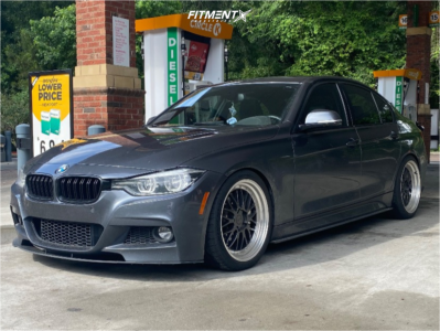 2018 BMW 340i - 19x8.5 30mm - ESR Sr05 - Lowering Springs - 255/35R19
