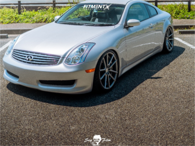 2006 Infiniti G35 - 20x10 43mm - Sporza Wheels V5 CONCAVE - Coilovers - 275/30R20