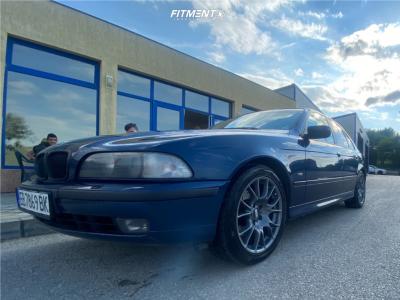 1999 BMW 540i - 18x8 18mm - BBS Ck - Stock Suspension - 235/45R18