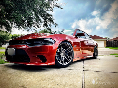 2020 Dodge Charger - 20x9.5 12mm - MRR M392 - Coilovers - 245/45R20
