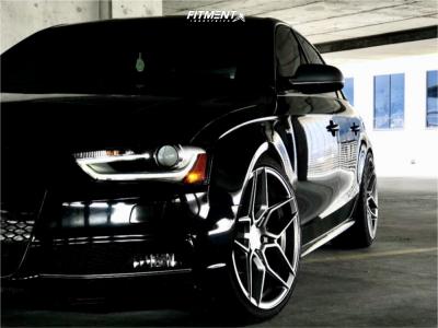 2013 Audi S4 - 19x9.5 33mm - Rohana Rfx11 - Lowering Springs - 265/35R19