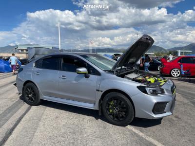 2018 Subaru WRX STI - 17x8 43mm - Method Mr501 - Lifted - 215/60R17