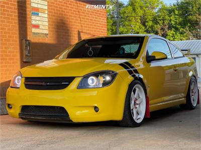 2008 Chevrolet Cobalt - 18x8.5 35mm - Vors Tr37 - Coilovers - 245/45R18