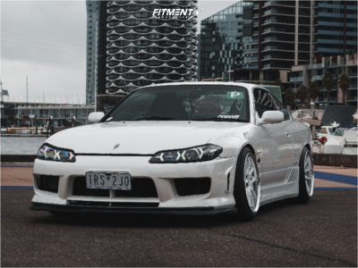 2002 Nissan 200SX - 18x9.5 20mm - Work Emotion Cr 3p - Coilovers - 225/40R18