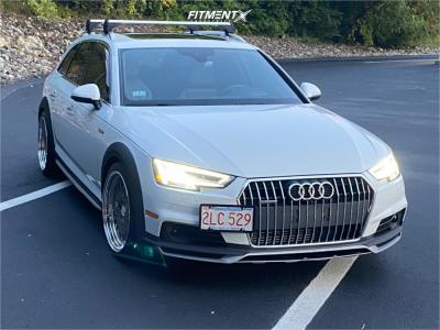 2017 Audi A4 allroad - 19x9.5 38mm - Heritage Fuji - Lowering Springs - 255/35R19