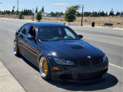 2008 BMW M3 - 18x10 19mm - Fikse Fm10 - Coilovers - 255/35R18