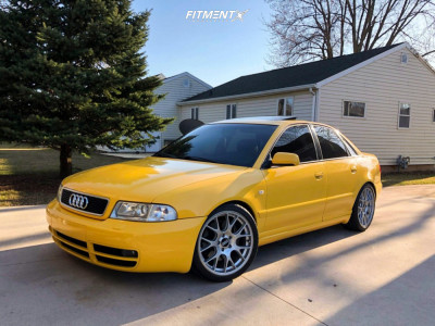 2001 Audi S4 - 18x8.5 37mm - BBS Ch-r - Coilovers - 245/35R18