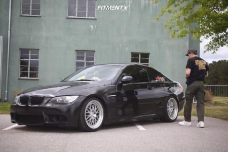 2010 BMW 335i xDrive - 18x8.5 35mm - Aodhan Ah02 - Coilovers - 225/30R18