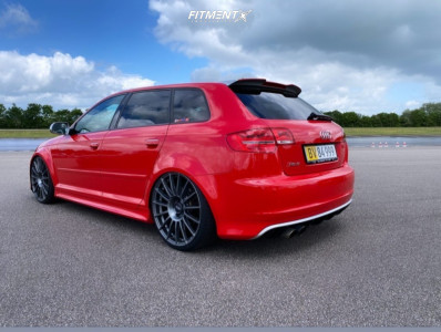 2017 Audi RS3 - 20x8.5 53mm - OZ Racing Superturismo Lm - Coilovers - 225/30R20