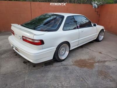 1993 Acura Integra - 16x8 15mm - Aodhan Ah05 - Coilovers - 195/45R16