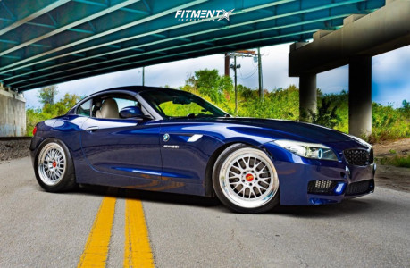 2010 BMW Z4 - 19x9 27mm - BBS E88 - Coilovers - 245/35R19