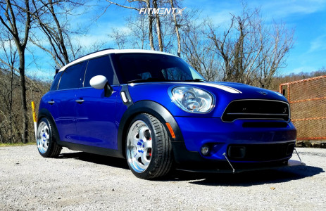 2015 Mini Cooper Countryman - 19x8 41mm - Work Meister S1 3p - Coilovers - 225/40R19